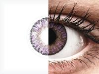Violetit Amethyst linssit - FreshLook ColorBlends - Tehoilla (2 kpl)