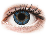 alensa.fi - Piilolinssit - Siniset Sapphire linssit FreshLook ColorBlends - Tehoilla