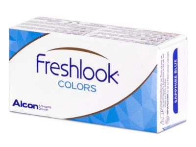Harmaat Misty Gray linssit - FreshLook Colors - Tehoilla (2 kpl)