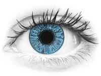 Siniset Sapphire linssit - FreshLook Colors - Tehoilla (2 kpl)