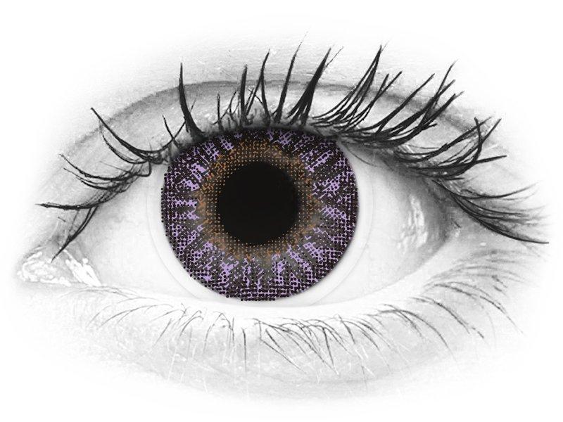 Violetit piilolinssit - TopVue Color (2 kpl)