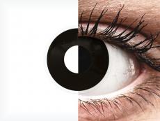 Mustat Blackout linssit - ColourVue Crazy  - Kertakäyttö (2 kpl)