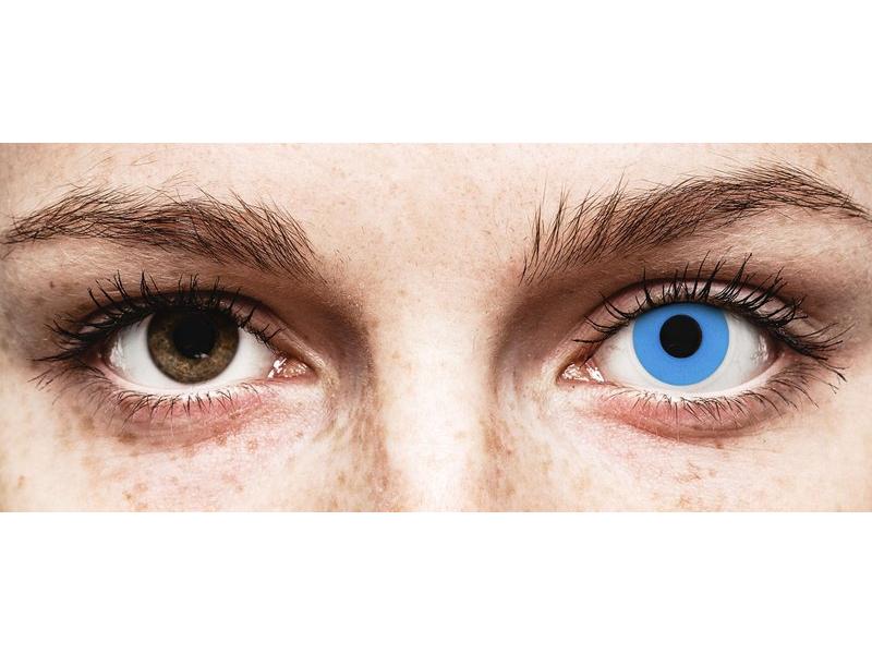 Siniset Sky piilolinssit - ColourVue Crazy - Kertakäyttö (2 kpl)
