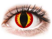 alensa.fi - Piilolinssit - Punaiset ja Keltaiset Dragon linssit - ColourVue Crazy - Kertakäyttö
