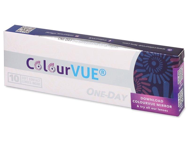 Vihreät One Day TruBlends linssit - tehoilla - ColourVue (10 kpl)