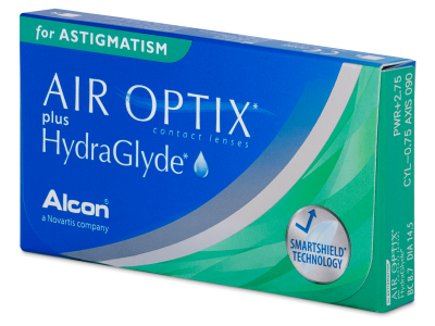 Air Optix plus HydraGlyde for Astigmatism (3 linssiä)