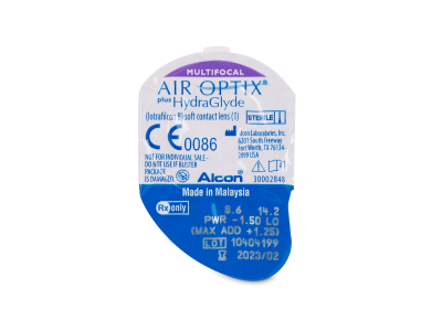 Air Optix plus HydraGlyde Multifocal (3 linssiä)