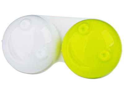 3D piilolinssikotelo Keltainen