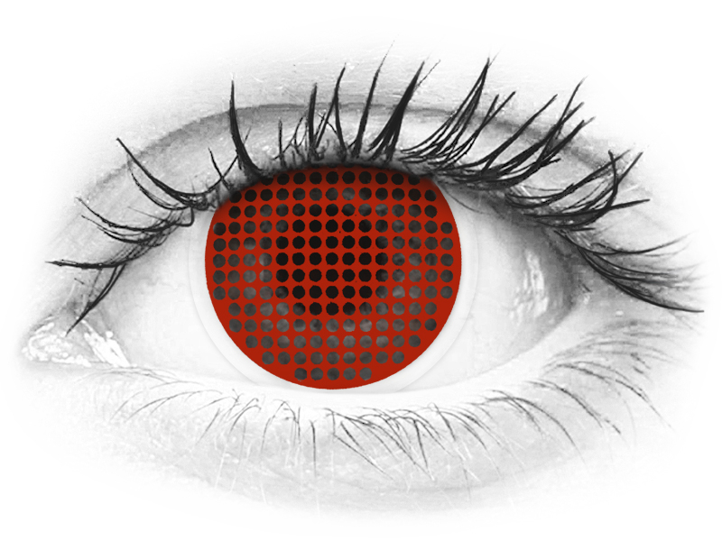 Red Screen piilolinssit - ColourVue Crazy (2 kpl)