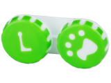 alensa.fi - Piilolinssit - Piilolinssikotelo Tassu vihreä