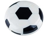 alensa.fi - Piilolinssit - Piilolinssikotelo Football peilillä - musta
