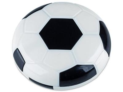 Piilolinssikotelo Football peilillä - musta