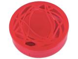 alensa.fi - Piilolinssit - Piilolinssikotelo peilillä - punainen kuvio