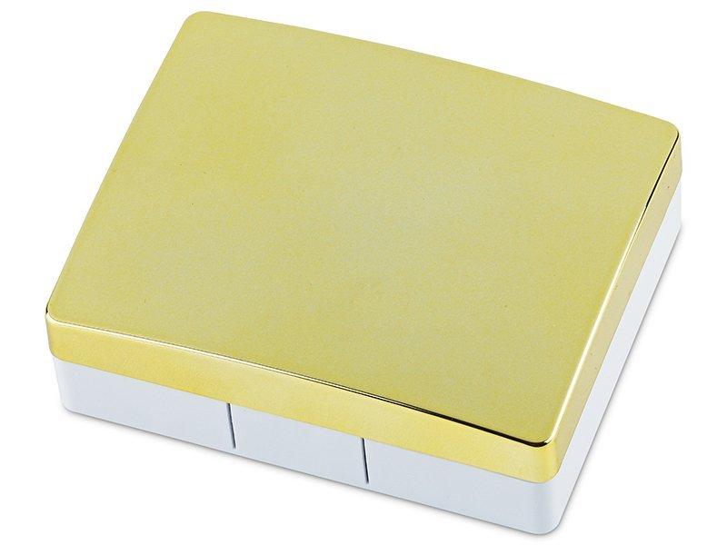 Piilolinssikotelo Elegant peilillä  - kultainen
