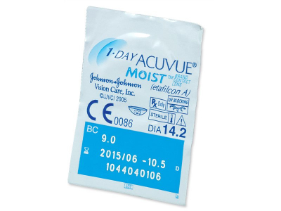 1 Day Acuvue Moist (180 kpl)