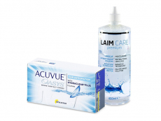 Acuvue Oasys for Astigmatism (12 kpl) + Laim-Care-piilolinssineste 400 ml