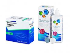 SofLens 38 (6 kpl) + Gelone-piilolinssineste 360 ml