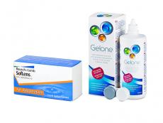 SofLens Toric (3 kpl) + Gelone-piilolinssineste 360 ml