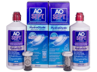 alensa.fi - Piilolinssit - AO SEPT PLUS HydraGlyde -piilolinssineste 2x360ml