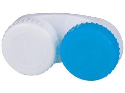 Piilolinssikotelo Sinivalkoinen L+R