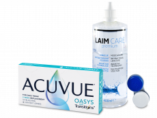 Acuvue Oasys with Transitions (6 linssiä) + Laim-Care linssineste 400 ml