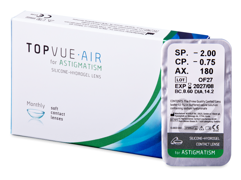 TopVue Air for Astigmatism (1 kpl)