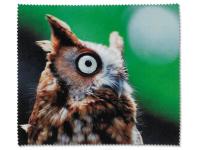 alensa.fi - Piilolinssit - Silmälasien puhdistusliina - Pöllö