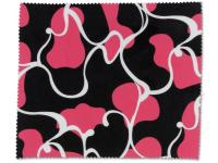 alensa.fi - Piilolinssit - Silmälasien puhdistusliina - vaaleanpunainen ja musta