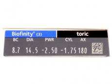 Biofinity Toric (3kpl)