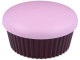 alensa.fi - Piilolinssit - Piilolinssikotelo peilillä Muffinssi - pinkki