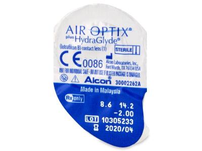 Air Optix plus HydraGlyde (3 kpl)