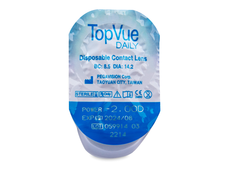 TopVue Daily (90kpl)