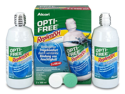 OPTI-FREE RepleniSH -piilolinssineste 2 x 300 ml