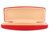 Kova kotelo silmälaseille - punainen