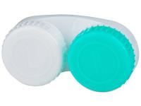 alensa.fi - Piilolinssit - Vihreä & Valkoinen piilolinssikotelo
