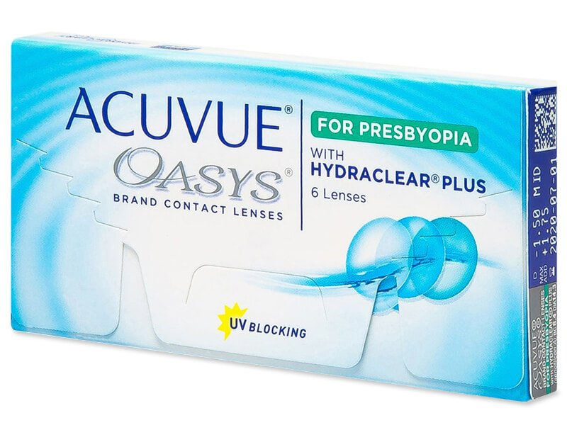 Acuvue Oasys for Presbyopia (6 kpl)