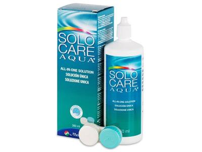 SoloCare Aqua -piilolinssineste 360ml