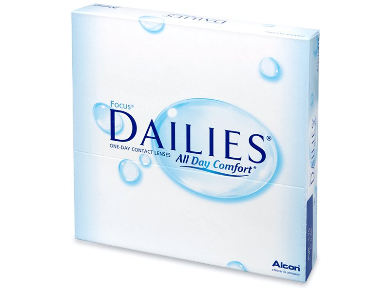 Focus Dailies All Day Comfort (90kpl)