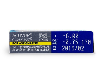 Acuvue Oasys for Astigmatism (6 kpl)