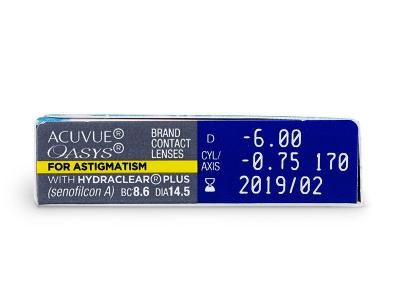 Acuvue Oasys for Astigmatism (6kpl)