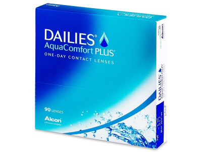 Dailies AquaComfort Plus (90 kpl)
