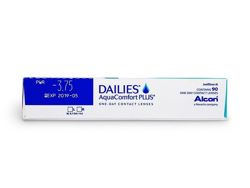 Dailies AquaComfort Plus (90kpl)