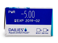 Dailies AquaComfort Plus (30kpl)