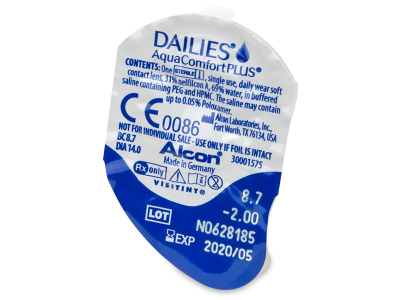 Dailies AquaComfort Plus (30 kpl)