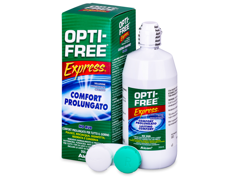 OPTI-FREE Express -piilolinssineste  355ml