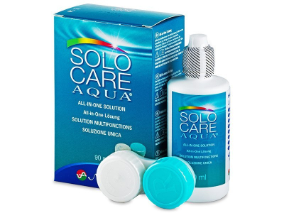 SoloCare Aqua -piilolinssineste 90ml